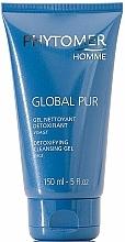 Perfumería y cosmética Gel facial limpiador detoxificante con extracto de hamamelis - Phytomer Homme Global Pur Detoxifying Cleansing Gel