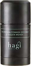 Perfumería y cosmética Pomada corporal protectora en barra con aceite de monoi - Hagi