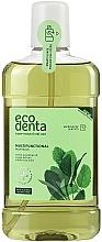 Perfumería y cosmética Enjuague bucal antibacteriano con esencia de menta, extracto de salvia y aloe vera - Ecodenta Multifunctional Mouthwash