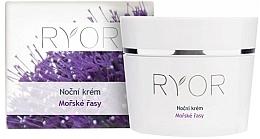 Perfumería y cosmética Crema de noche con extracto de algas marinas - Ryor Night Cream Marine Algae