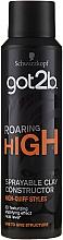 Perfumería y cosmética Spray de arcilla para cabello - Schwarzkopf Got2b Roaring High Sprayable Clay Constructor