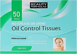 Perfumería y cosmética Papel facial matificante - Beauty Formulas Oil Control Tissues