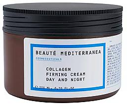 Perfumería y cosmética Crema facial reafirmante con colágeno - Beaute Mediterranea Collagen Firming Cream Day & Night