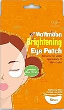 Perfumería y cosmética Parches antiojeras de hidrogel aclarantes con extracto de salvado de arroz - Cettua Halfmoon Brightening Eye Patch