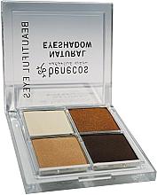 Perfumería y cosmética Sombra de ojos - Benecos Natural Quattro Eyeshadow