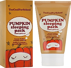Perfumería y cosmética Mascarilla facial de noche con extracto de calabaza - Too Cool For School Pumpkin Sleeping Pack