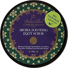 Perfumería y cosmética Exfoliante para pies con extracto de aloe vera - Sabai Thai Rice Milk Aroma Soothing Foot Scrub