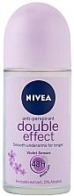Roll-on desodorante con extracto de aguacate - Nivea Double Effect Deodorant Roll-On — imagen N1