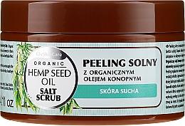 Perfumería y cosmética Exfoliante corporal a base de sal con aceite de cañamo orgánico - GlySkinCare Hemp Seed Oil Salt Scrub