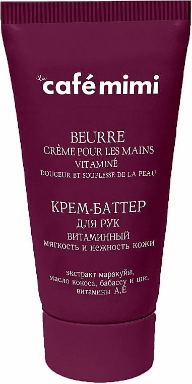 Crema de manos con extracto de maracuyá y manteca de karité - Le Cafe de Beaute Cafe Mimi Hand Cream Oil
