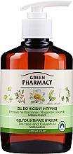 Perfumería y cosmética Gel de higiene íntima con extracto de caléndula & árbol de té - Green Pharmacy