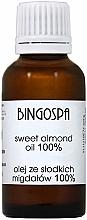 Perfumería y cosmética Aceite de almendras dulces - BingoSpa