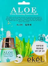 Perfumería y cosmética Mascarilla facial de tejido hidratante con aloe vera - Ekel Aloe Ultra Hydrating Essence Mask