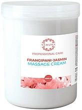 Perfumería y cosmética Crema de masaje, Plumeria y jazmín - Yamuna Massage Cream
