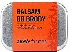 Perfumería y cosmética Bálsamo para barba con aceite de cañamo - Zew Beard Balm