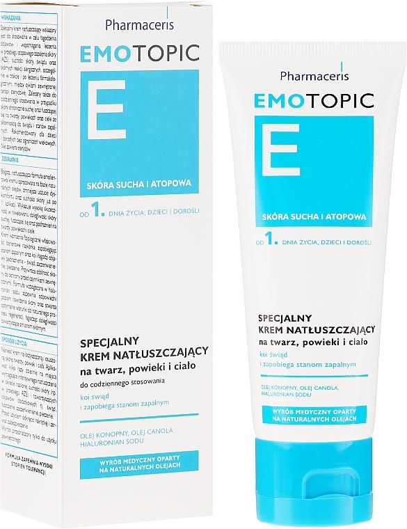 Crema para rostro y cuerpo con lípidos - Pharmaceris E Emotopic Special Cream