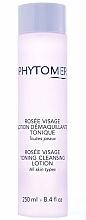 Perfumería y cosmética Desmaquillante con agua de rosas - Phytomer Rosee Visage Face Dew Toning Cleansing Lotion
