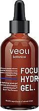 Perfumería y cosmética Sérum natural facial en gel con complejo de ácido hialurónico, kombuchka y té negro fermentado - Veoli Botanica Ultra Moisturizing Gel Serum