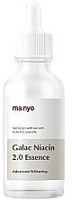 Perfumería y cosmética Esencia facial fortificante con galactomyces y niacinamidas - Manyo Galac Niacin 2.0 Essenc