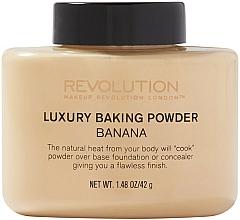 Perfumería y cosmética Polvo de maquillaje cocido - Makeup Revolution Luxury Banana Powder