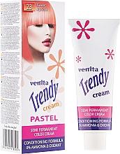 Perfumería y cosmética Crema colorante y acondicionador para cabello - Venita Trendy Color Cream