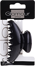 Perfumería y cosmética Pinza de pelo, 0216, negra - Glamour
