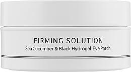 Perfumería y cosmética Parches de hidrogel para contorno de ojos con polvo de perlas negras y extracto de pepino de mar - BeauuGreen Sea Cucumber & Black Hydrogel Eye Patch