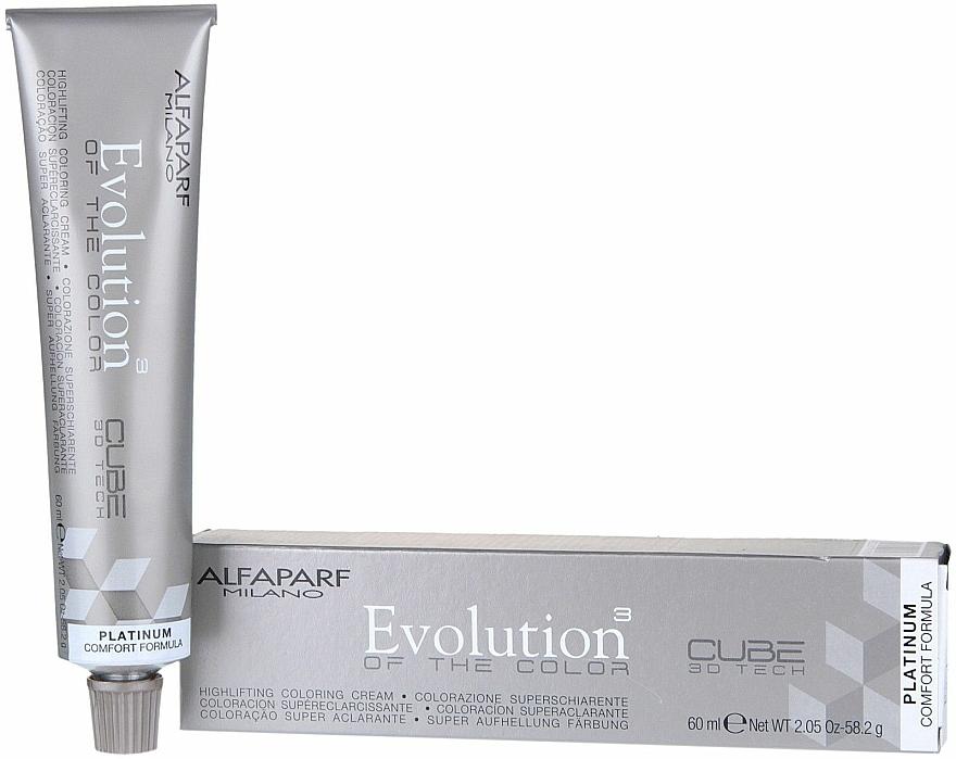 Tinte permanente en crema para cabello con ácido hialurónico sin PPD - Alfaparf Evolution of the Color