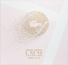 Perfumería y cosmética Lacoste Eau de Lacoste L.12.12 Pour Elle Sparkling - Set (eau de toilette/90ml + gel de ducha/150ml)