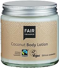 Perfumería y cosmética Loción corporal de aceite de oliva con coco - Fair Squared Body Lotion Coconut