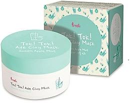 Perfumería y cosmética Mascarilla facial de arcilla con manzana y menta - Prreti Tok Tok Ade Clay Mask Smooth Apple Mint