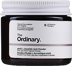 Perfumería y cosmética Polvo con vitamina C y ácido L-ascórbico - The Ordinary 100% L-Ascorbic Acid Powder