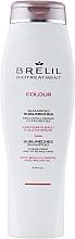 Perfumería y cosmética Champú antiamarillo potenciador del color hidratante con flores de Bach - Brelil Bio Treatment Colour Sublimeches Shampoo