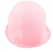 Perfumería y cosmética Gorro de silicona de peluquería, rosa - Deni Carte