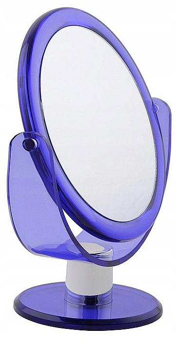 Espejo cosmético, doble cara 499766, violeta - Inter-Vion