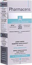 Perfumería y cosmética Crema facial intensiva hipoalergénica con prebióticos y cera de oliva - Pharmaceris A Vita Sensilium Deeply Moisturizing Cream