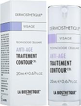 Perfumería y cosmética Tratamiento para contorno de ojos con extracto de células madre vegetales, algas rojas e hibisco - La Biosthetique Dermosthetique Traitement Contour Anti-age