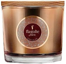 Perfumería y cosmética Vela perfumada de soja con aroma a chocolate - Flagolie Fragranced Candle Chocolate