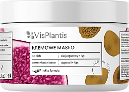 Perfumería y cosmética Crema manteca corporal con aceite de argán e higo - Vis Plantis Herbal Vital Care Creamy Body Butter Argan Oil and Figs