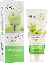 Perfumería y cosmética Peeling gel facial con extracto de manzana - Ekel Apple Natural Clean Peeling Gel