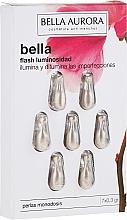 Perfumería y cosmética Perlas faciales monodosis hipoalergénicas con extracto de plancton - Bella Aurora Flash Luminosity Facial Treatment
