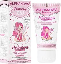 Perfumería y cosmética Crema hidratante para rostro y cuerpo con fresa y algodón - Alphanova Kids Princess Moisturiser Body & Face