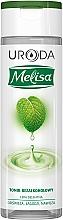 Perfumería y cosmética Tónico facial sin alcohol con extractos de té verde y limón - Uroda Melisa Tonik