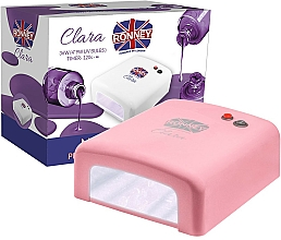 Perfumería y cosmética Lámpara UV de uñas, coral - Ronney Profesional Clara UV 36W (GY-UV-818) Lamp