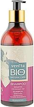 Perfumería y cosmética Champú regenerador orgánico con queratina - Venita Bio Natural Care Keratin Shampoo