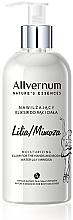 Perfumería y cosmética Elixir de manos y cuerpo con aroma a lirio y mimosa - Allverne Nature's Essences Elixir for Hands and Body