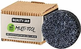 Perfumería y cosmética Champú sólido para cabello, cuerpo y barba con aceites de bergamota y coco - Beauty Jar Multi-Tool Men Shampoo Bar For Hair, Body & Beard