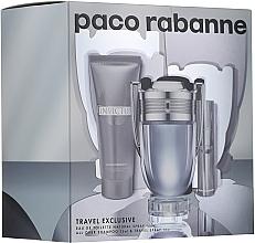 Paco Rabanne Invictus - Set corporal (edt/100ml + edt/10ml + gel de ducha/75ml) — imagen N1