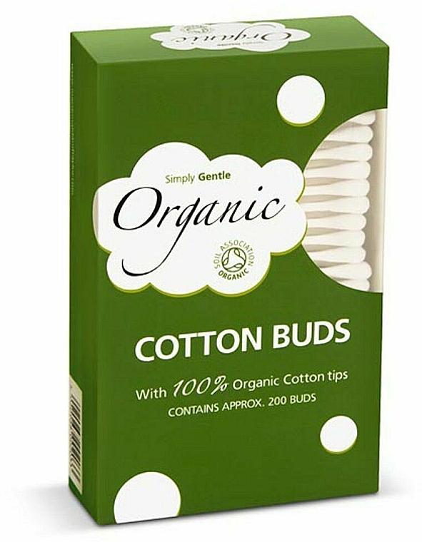 Bastoncillos de algodón - Simply Gentle Organic Cotton Buds