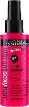 Perfumería y cosmética Spray protector de calor con aceite de rosa y almendra - SexyHair Vibrant Vivid Memory Blow Dry Spray